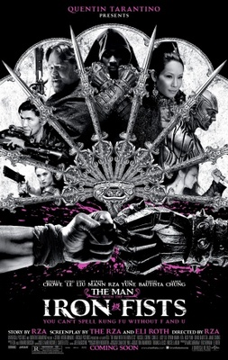 The Man with the Iron Fists movie poster (2012) poster MOV_e73a7302