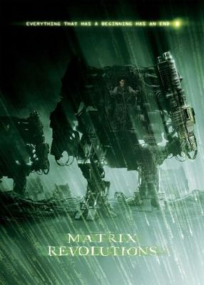 The Matrix Revolutions movie poster (2003) poster MOV_e73d9947