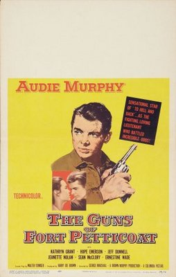 The Guns of Fort Petticoat movie poster (1957) poster MOV_e7498194