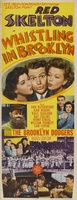 Whistling in Brooklyn movie poster (1943) picture MOV_e752fc6f
