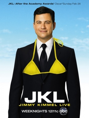 Jimmy Kimmel Live! movie poster (2003) poster MOV_e754342a