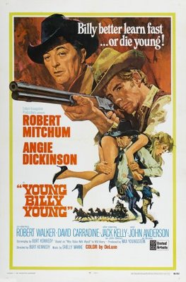 Young Billy Young movie poster (1969) poster MOV_e7550055