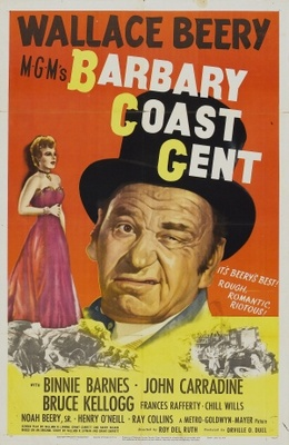 Barbary Coast Gent movie poster (1944) poster MOV_e7585035
