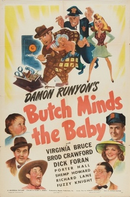 Butch Minds the Baby movie poster (1942) poster MOV_e761c38b