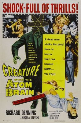 Creature with the Atom Brain movie poster (1955) poster MOV_e767450c