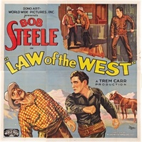 Law of the West movie poster (1932) picture MOV_e76809ba