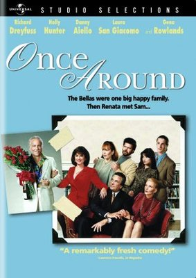 Once Around movie poster (1991) poster MOV_e770b62f