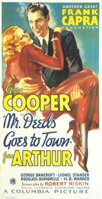 Mr. Deeds Goes to Town movie poster (1936) poster MOV_e787f1b3
