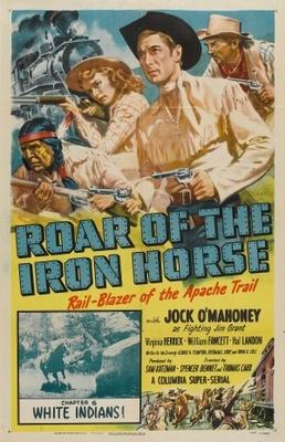 Roar of the Iron Horse, Rail-Blazer of the Apache Trail movie poster (1951) poster MOV_e79e8e40