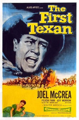 The First Texan movie poster (1956) poster MOV_e7ab8b73