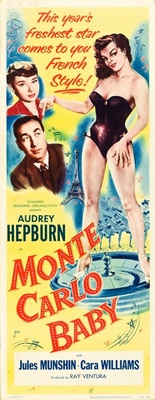 Monte Carlo Baby movie poster (1953) poster MOV_e7b1c617