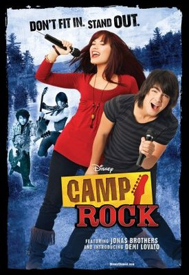 Camp Rock movie poster (2008) poster MOV_e7b3a49a