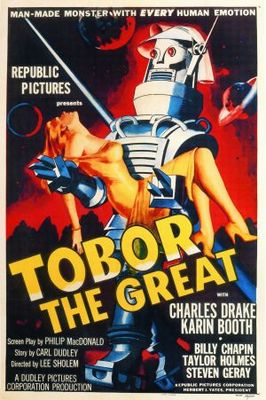 Tobor the Great movie poster (1954) poster MOV_e7b4a6a7