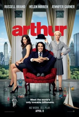 Arthur movie poster (2011) poster MOV_e7d846f0