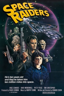 Space Raiders movie poster (1983) poster MOV_e7e26719