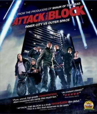Attack the Block movie poster (2011) poster MOV_e7e78676