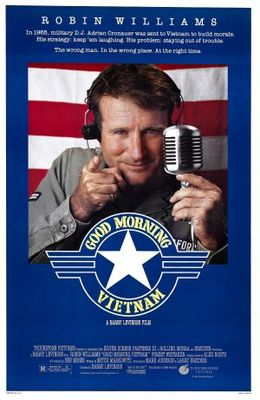 Good Morning, Vietnam movie poster (1987) poster MOV_e7ecbae4