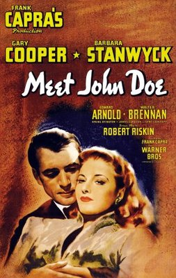 Meet John Doe movie poster (1941) poster MOV_e7f3eab9
