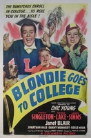 Blondie Goes to College movie poster (1942) picture MOV_e8127def