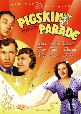 Pigskin Parade movie poster (1936) poster MOV_e814c878