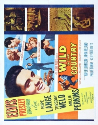 Wild in the Country movie poster (1961) poster MOV_e81af04c