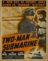 Two-Man Submarine movie poster (1944) picture MOV_e81e96ff
