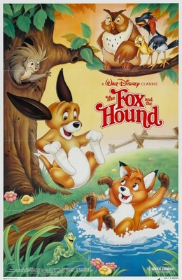 The Fox and the Hound movie poster (1981) poster MOV_e8206af4