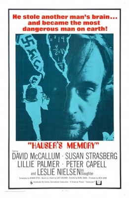 Hauser's Memory movie poster (1970) poster MOV_e82909cd