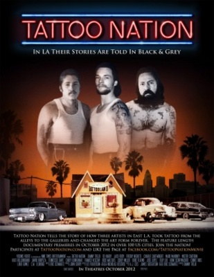 Tattoo Nation movie poster (2013) poster MOV_e83d8881