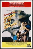 Invasion of the Space Preachers movie poster (1990) picture MOV_e84bd8e9