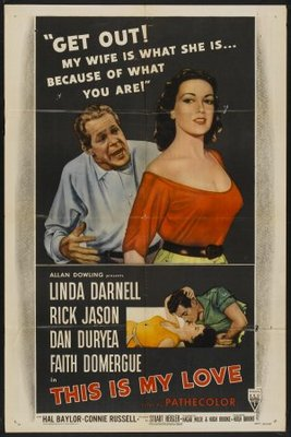 This Is My Love movie poster (1954) poster MOV_e862abab