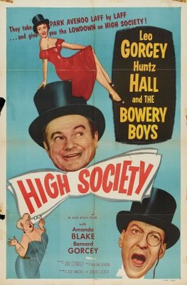 High Society movie poster (1955) poster MOV_e86f7948
