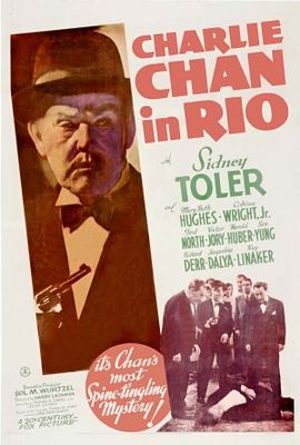 Charlie Chan in Rio movie poster (1941) poster MOV_e8ab5b0d
