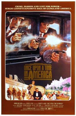 Once Upon a Time in America movie poster (1984) poster MOV_e8af1c66