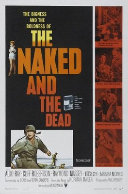 The Naked and the Dead movie poster (1958) poster MOV_e8b29490