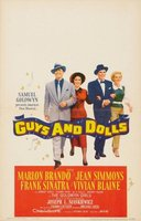 Guys and Dolls movie poster (1955) picture MOV_e8bc9f39