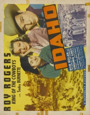 Idaho movie poster (1943) poster MOV_e8cfecf4