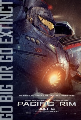 Pacific Rim movie poster (2013) poster MOV_e8e65f1d