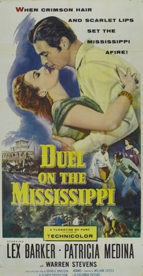 Duel on the Mississippi movie poster (1955) poster MOV_e8e79a2e
