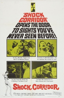 Shock Corridor movie poster (1963) poster MOV_e8ecfc9c