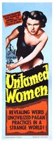 Untamed Women movie poster (1952) picture MOV_e904afd8