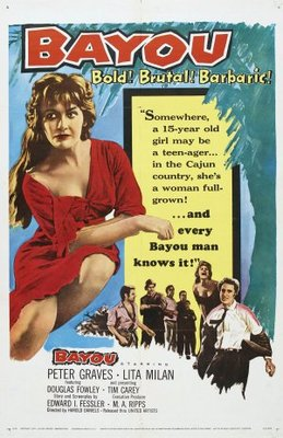 Bayou movie poster (1957) poster MOV_e904efb7