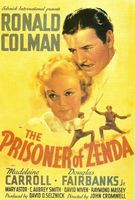 The Prisoner of Zenda movie poster (1937) picture MOV_e911a542