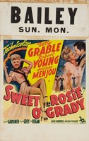 Sweet Rosie O'Grady movie poster (1943) picture MOV_e91353d7