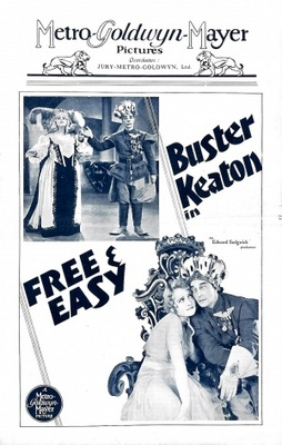 Free and Easy movie poster (1930) poster MOV_e925a5ff
