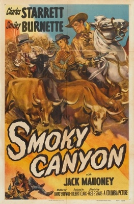 Smoky Canyon movie poster (1952) poster MOV_e92639ae