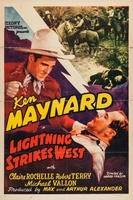 Lightning Strikes West movie poster (1940) picture MOV_e93005ad