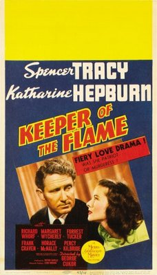 Keeper of the Flame movie poster (1942) poster MOV_e9313f6c