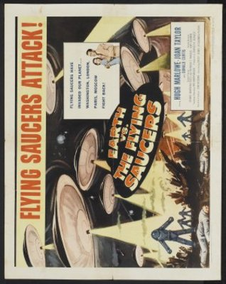 Earth vs. the Flying Saucers movie poster (1956) poster MOV_e93889dc
