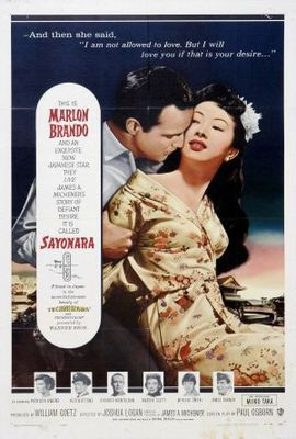 Sayonara movie poster (1957) poster MOV_e93b8875